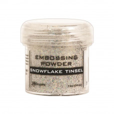 Пудра для эмбоссинга EMBOSSING POWDER Snowflake Tinsel