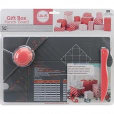 Доска для создания коробочек Gift Box Punch Board