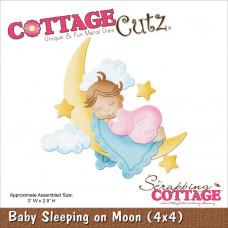 Нож для вырубки Baby Sleeping On Moon