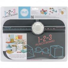 """Доска для создания коробочек, бантиков и конвертов """"123 Punch Board"""" от We R Memory Keepers"""