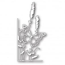 "Нож для вырубки"" Lavender Butterfly - Left"" Corner от Memory Box"