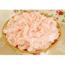 Шебби-лента Жемчужный розовый