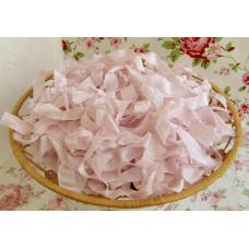 Шебби-лента Розовая орхидея