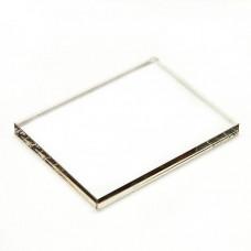 Акриловый блок для штампов, 10*10 см