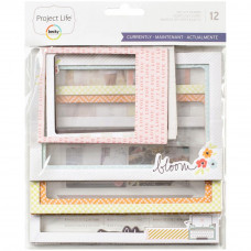 Набор рамок Project Life Die-Cut Chipboard Photo Frames 12/Pkg