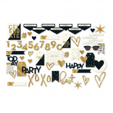 Набор высечек, Yes, Please Mixed Bag Cardstock Die-Cuts