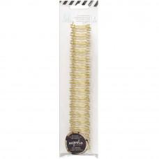 Пружины для биндера  Journal Notebook Cinch Binding Wire Gold от Haidy Swapp