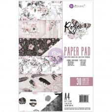 Набор бумаги Rose Quartz  от Prima Marketing Double-Sided Paper Pad A4 30/Pkg