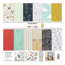 "Набор бумаги Dream Big Fancy Pants Designs Collection Kit  12""X12"""