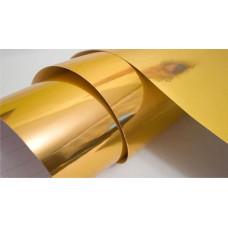 Термотрансферная пленка,золото металлик
