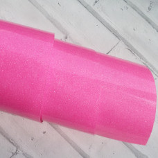 Термотрансферная пленка, неоновый розовый