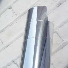 Термотрансферная пленка,  металлик серебро
