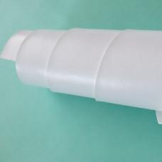 Переплётный кожзам - белый глянец 35*50