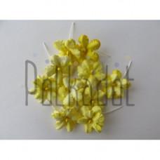 "Бумажные цветы ""Незабудки жёлтые"