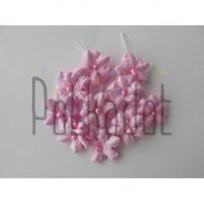 """Бумажные цветы """"Незабудки розовые"""""""