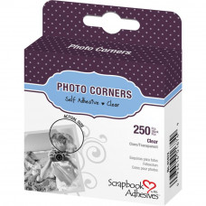 Набор уголков под фото прозрачные Scrapbook Adhesives Photo Corners