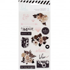 Набор наклеек от  Heidi Swapp Magnolia Jane Clear Stickers