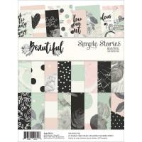 Набор бумаги Beautiful от  Simple Stories