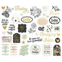 Набор высечек Beautiful Bits  от Simple Stories