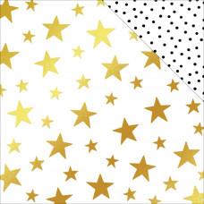 Лист бумаги Starry Night  коллекции Joyful от MME