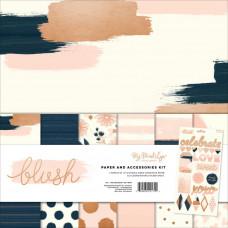 """Набор бумаги 30х30 коллекции """"Blush"""" от MME"""
