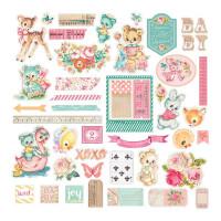 Набор высечек Heaven Sent 2 Ephemera Cardstock Die-Cuts от Prima Marketing
